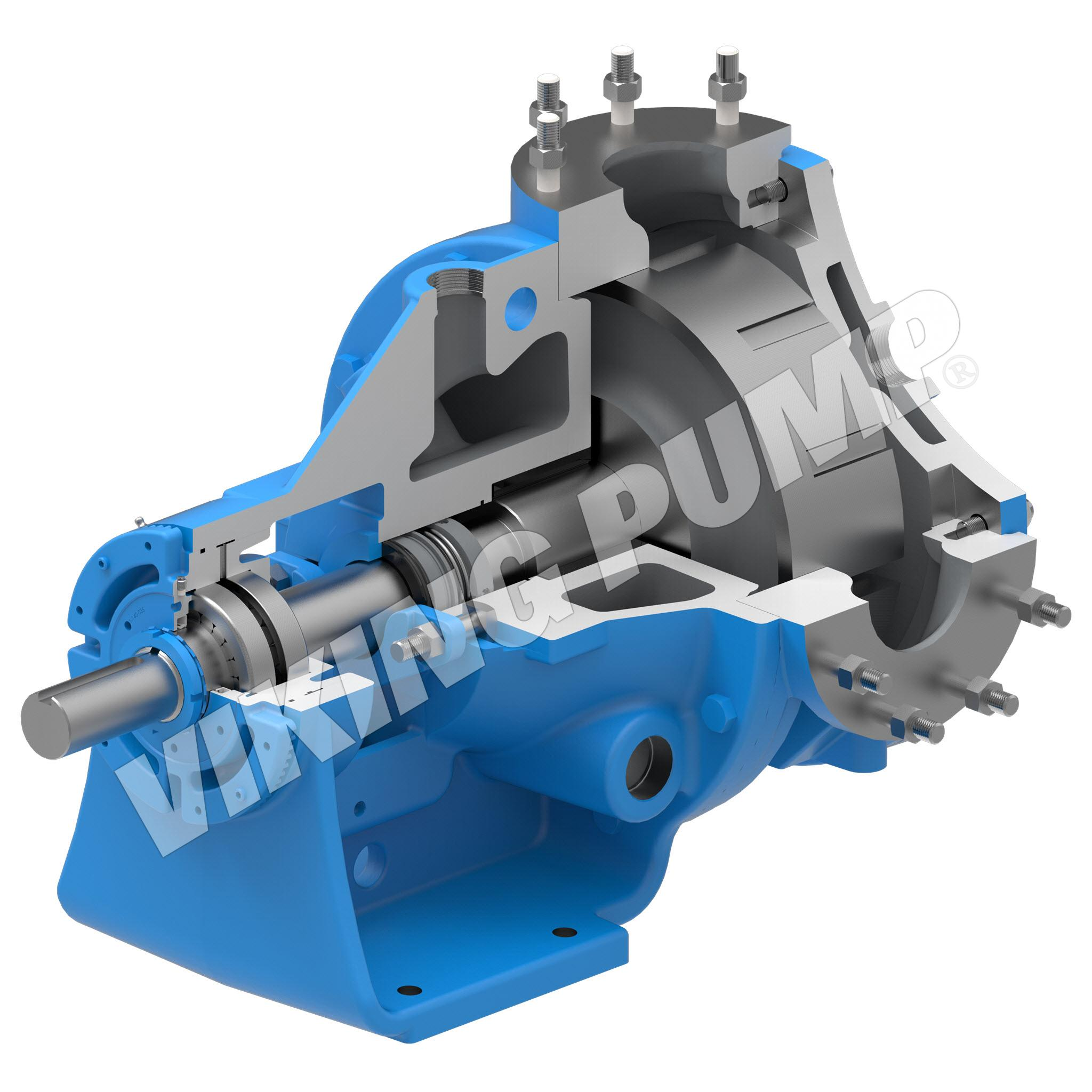 Model M4224A, Foot Mounted, Mechanical Seal, less Relief Valve Pump