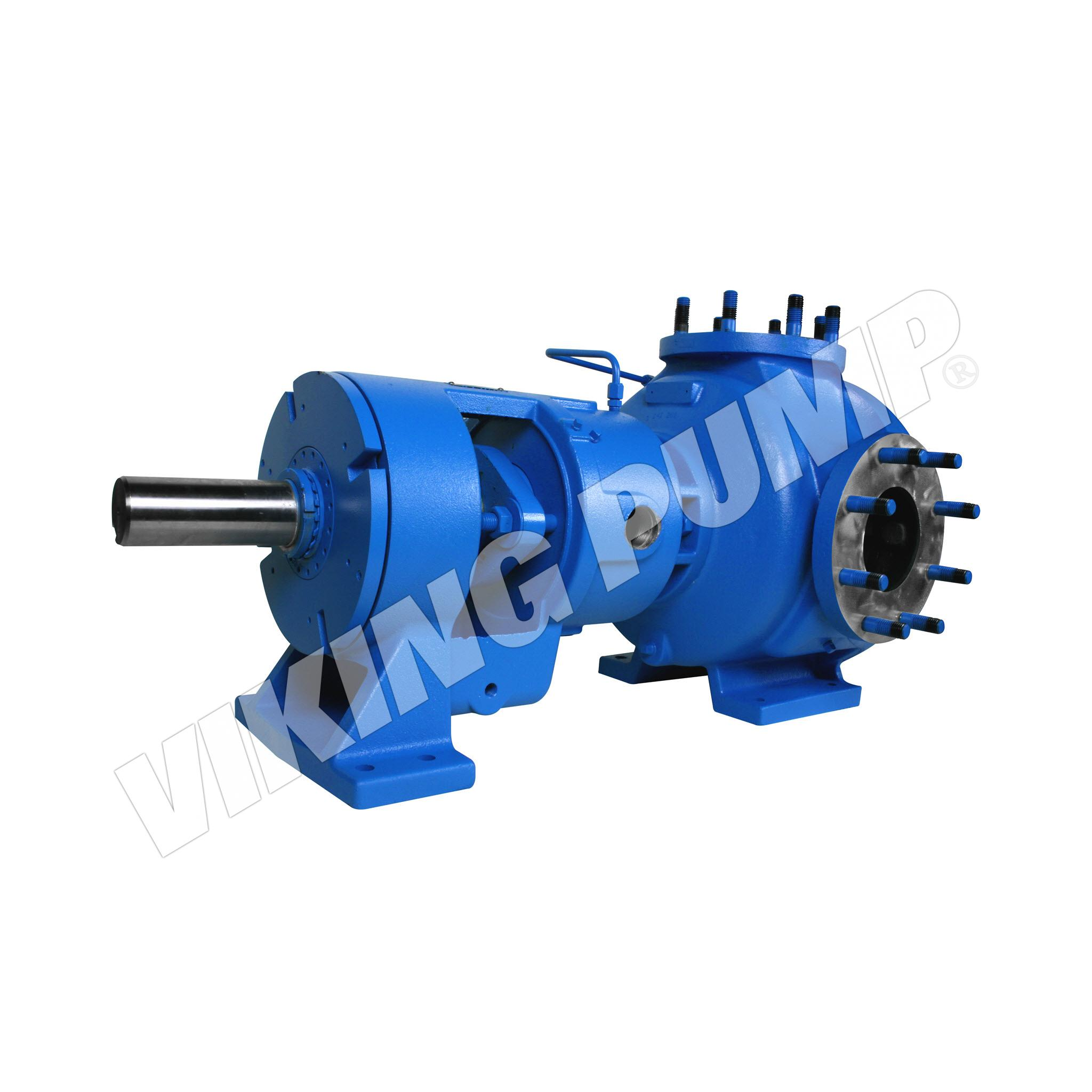 Model N324A, Foot Mounted, Packed Gland, Flange Port, less Relief Valve Pump
