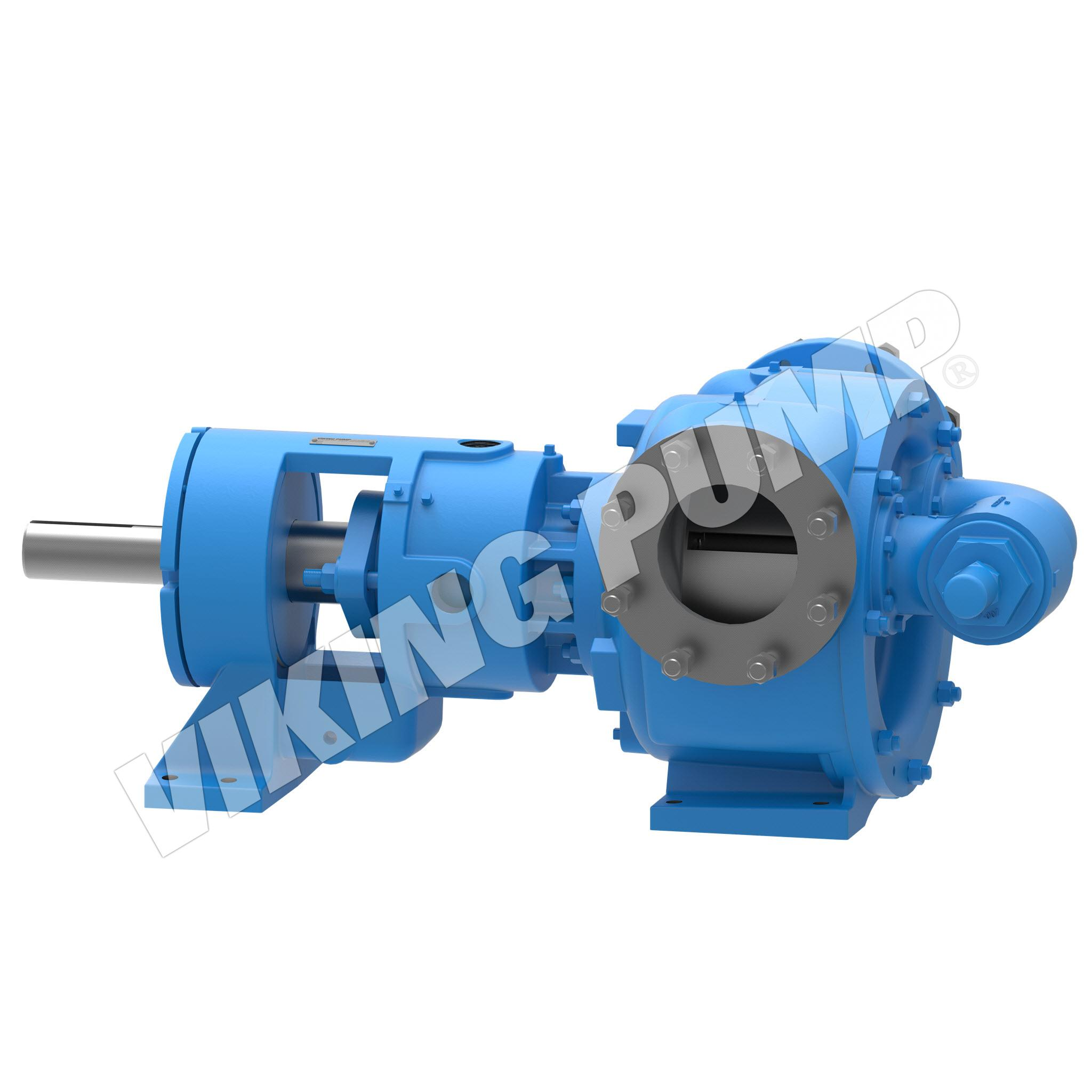 Model N324A, Foot Mounted, Packed Gland, Relief Valve Pump