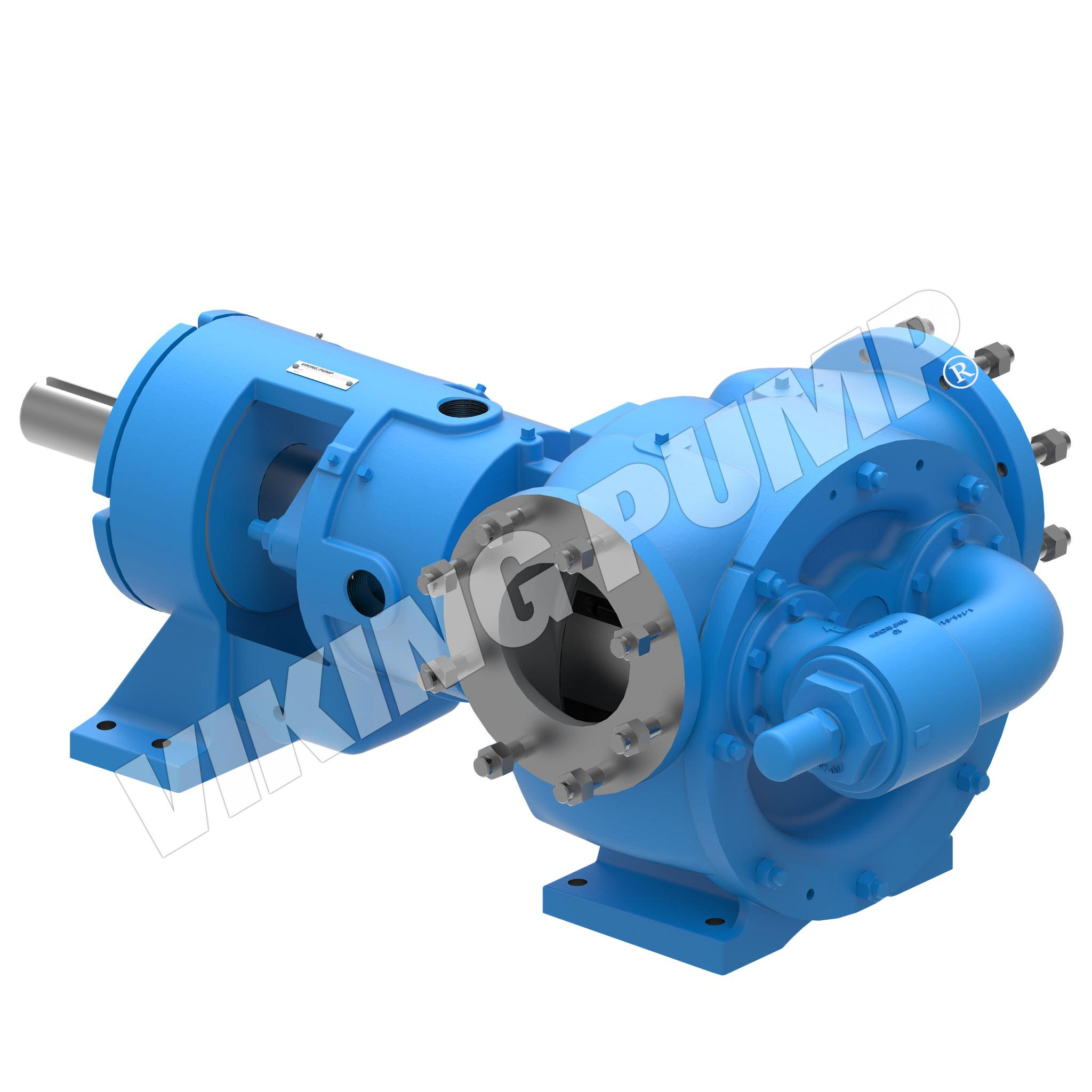 Model N327A, Foot Mounted, Packed Gland, Relief Valve Pump