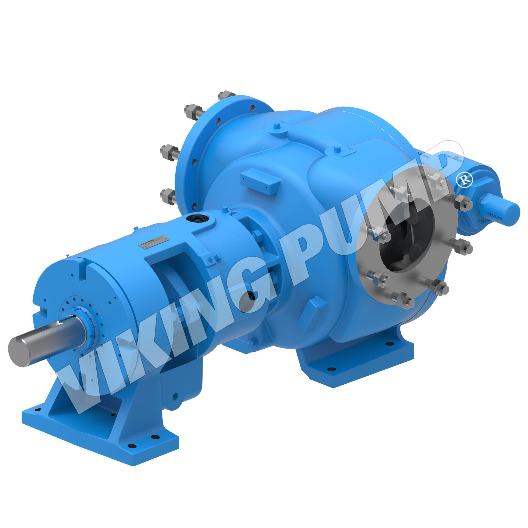 Model N4327A, Foot Mounted, Mechanical Seal, Relief Valve Pump