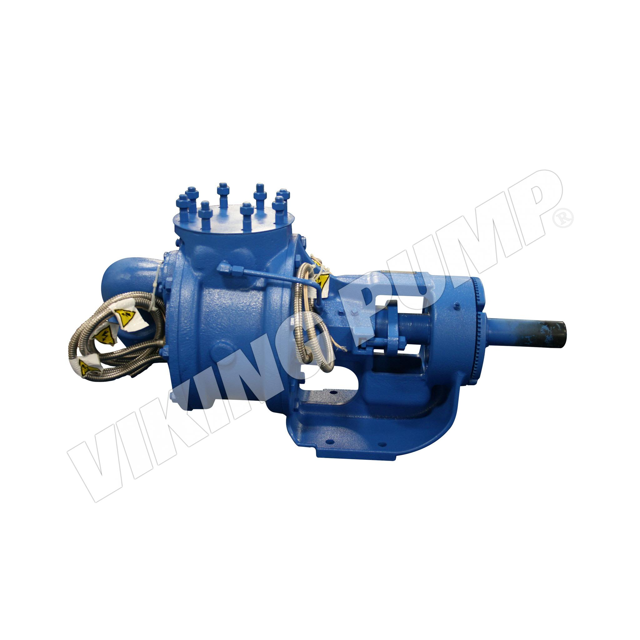 Model Q124E, Foot Mounted, Electrically Heated, Packed Gland, Relief Valve Pump