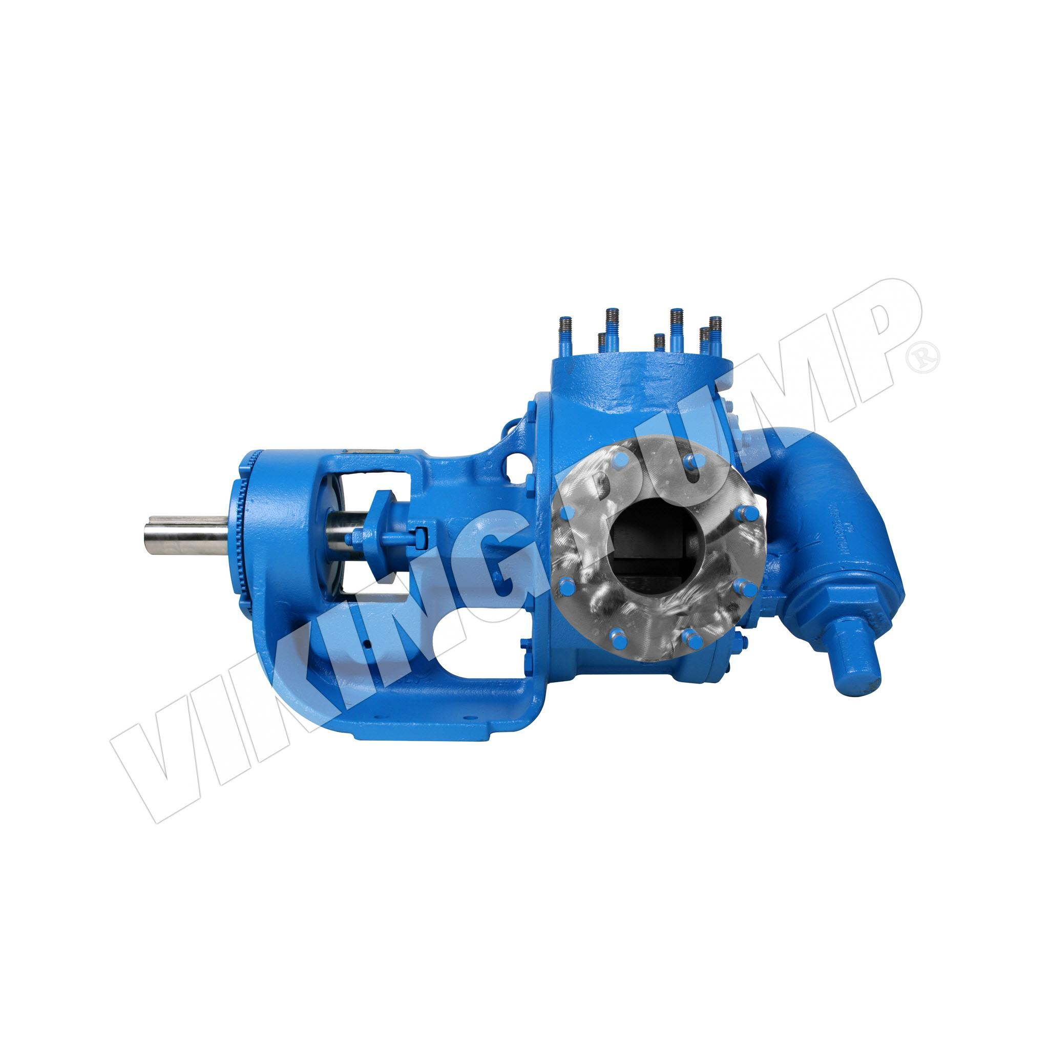 Model Q127A, Foot Mounted, Packed Gland, Relief Valve Pump