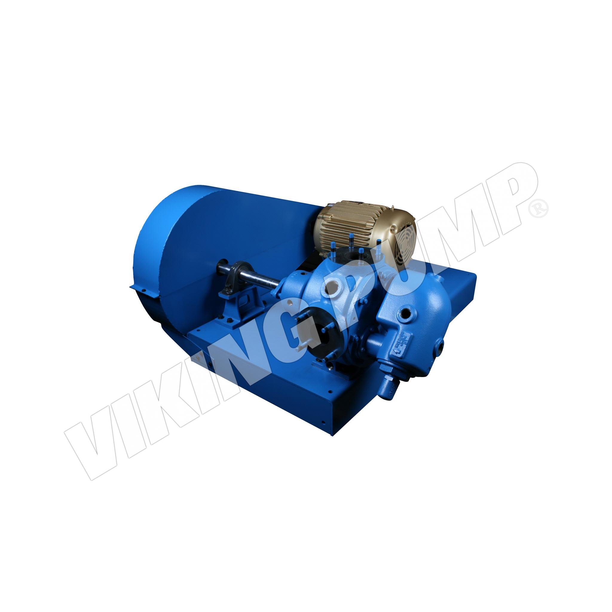 Model Q34, Jacketed Relief Valve, V Drive Unit