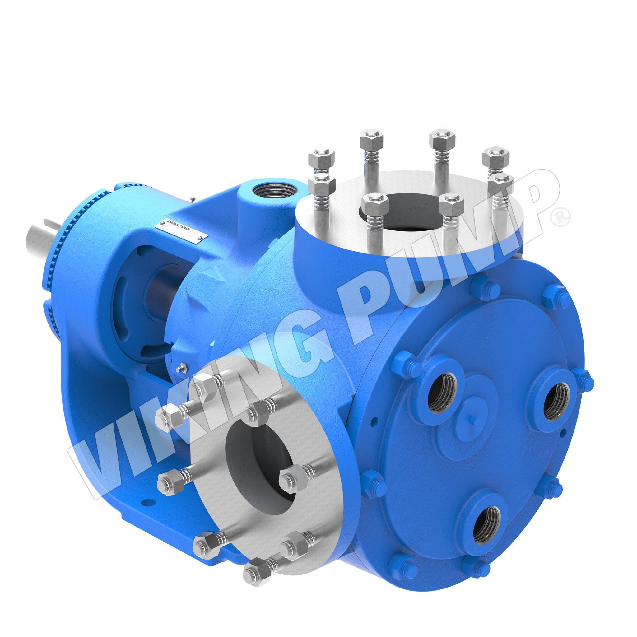 Model Q4224B, Foot Mounted, Mechanical Seal, less Relief Valve Pump