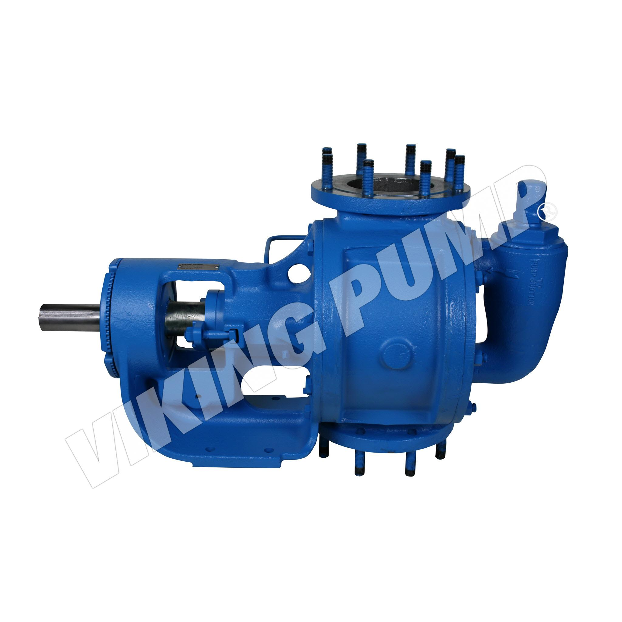 Model QS4123A, Foot Mounted,Mechanical Seal, Vertical Ported, Relief Valve Pump