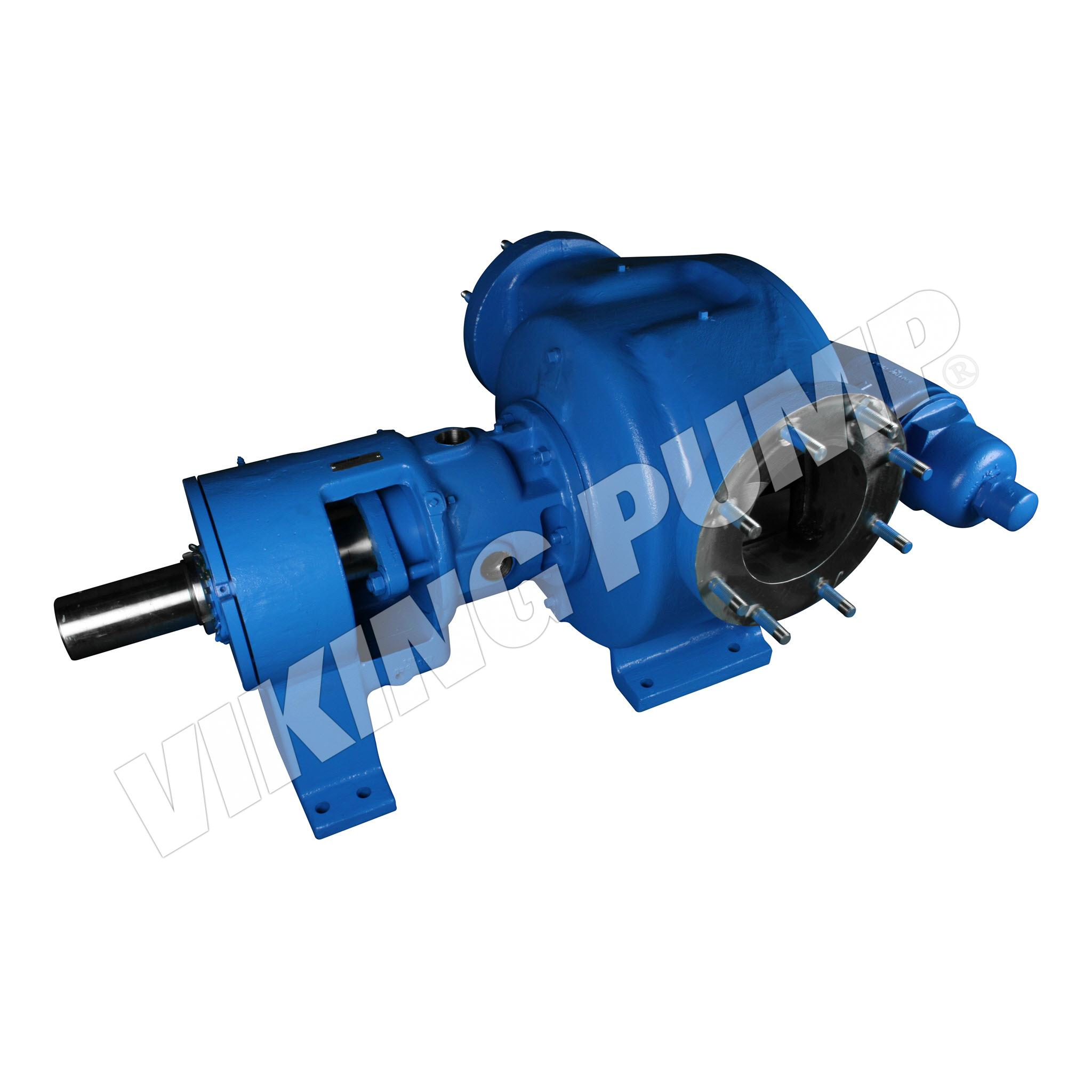 Model R327A, Foot Mounted, Packed Gland, Relief Valve Pump