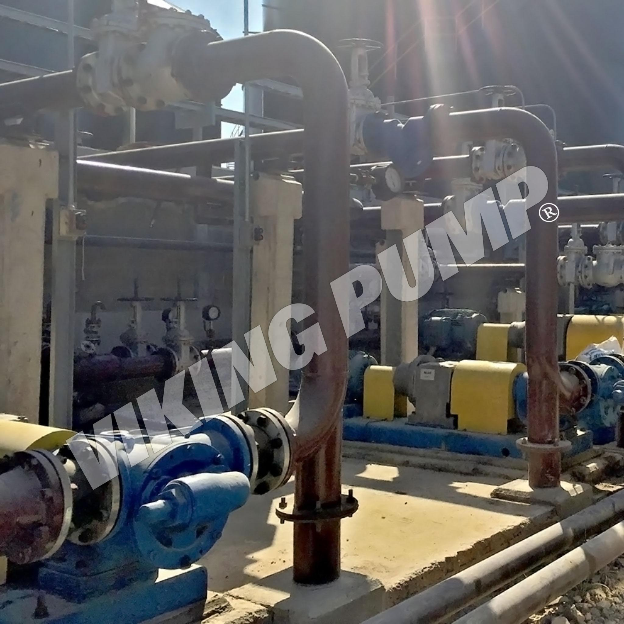 Model RS4323A, Pumping Palm Oil