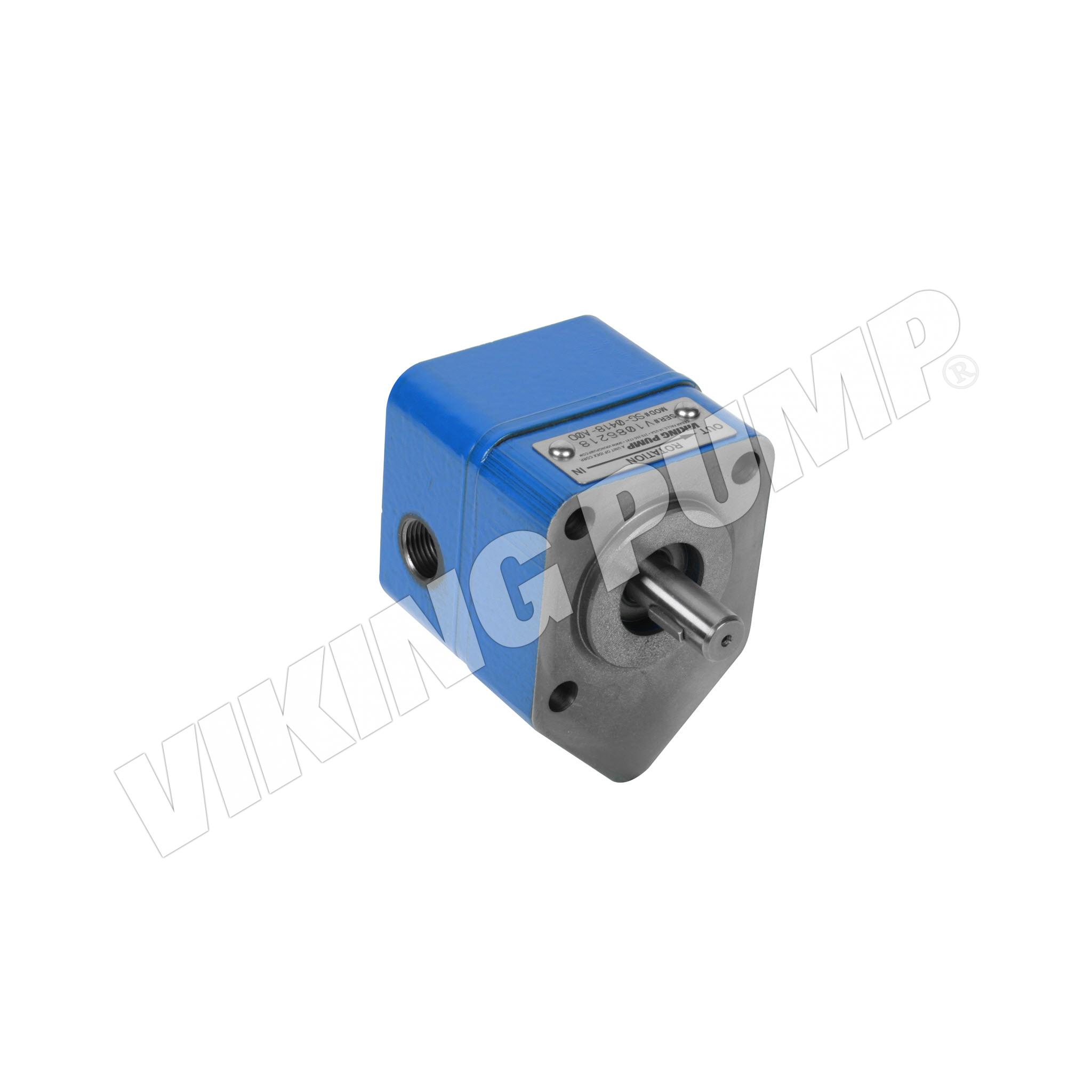 Model SG-0418, Flange Mount, Lip Seal, less Relief Valve Pump